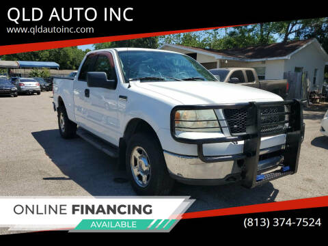 2006 Ford F-150 for sale at QLD AUTO INC in Tampa FL
