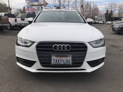 2013 Audi A4 for sale at EXPRESS CREDIT MOTORS in San Jose CA