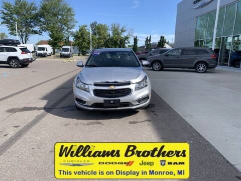 2016 Chevrolet Cruze Limited for sale at Williams Brothers - Pre-Owned Monroe in Monroe MI