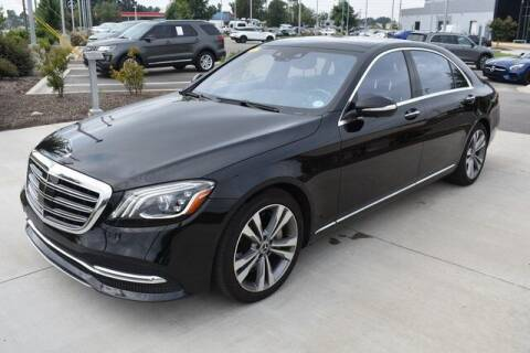2019 Mercedes-Benz S-Class for sale at PHIL SMITH AUTOMOTIVE GROUP - MERCEDES BENZ OF FAYETTEVILLE in Fayetteville NC