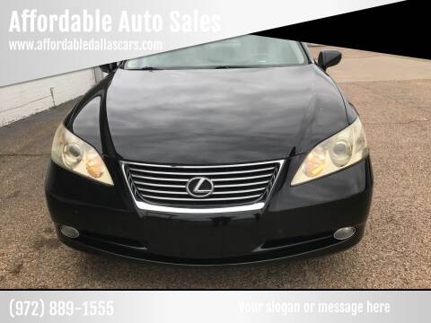 2009 Lexus ES 350 for sale at Affordable Auto Sales in Dallas TX