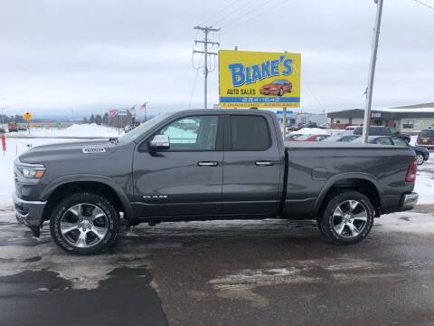 2019 RAM Ram Pickup 1500 for sale at Blake's Auto Sales in Rice Lake WI
