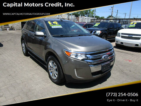 2014 Ford Edge for sale at Capital Motors Credit, Inc. in Chicago IL