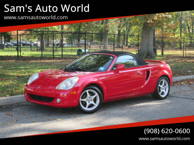 2003 Toyota MR2 Spyder for sale at Sam's Auto World in Roselle NJ