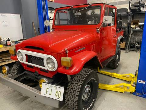 1973 Toyota Land Cruiser for sale at McQueen Classics in Lewes DE