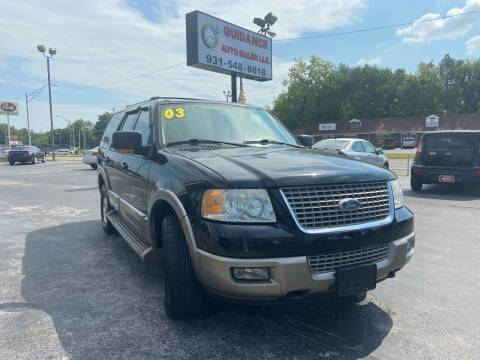 2003 Ford Expedition for sale at Guidance Auto Sales LLC in Columbia TN