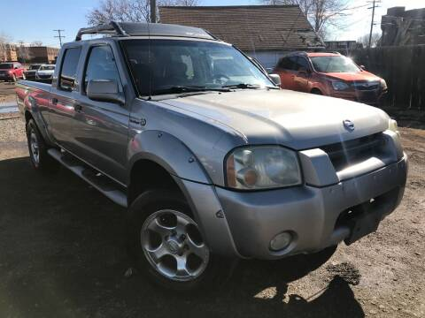 2002 Nissan Frontier for sale at 3-B Auto Sales in Aurora CO