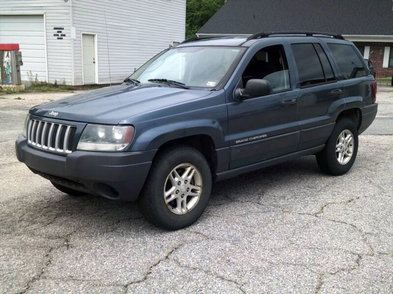 2004 Jeep Grand Cherokee for sale at Wamsley's Auto Sales in Colonial Heights VA