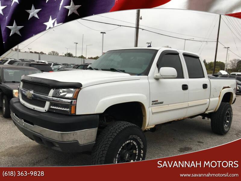 2004 Chevrolet Silverado 2500HD for sale at Savannah Motors in Cahokia IL