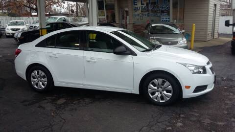 2013 Chevrolet Cruze for sale at Elite Auto Sales in Willowick OH