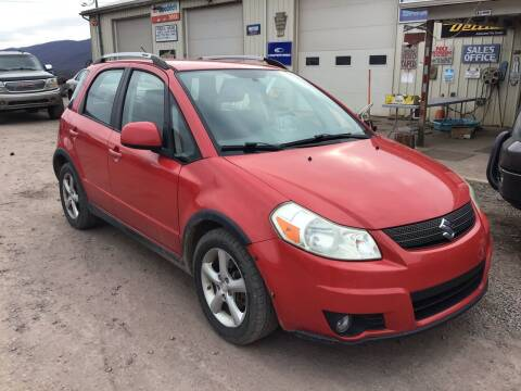2009 Suzuki SX4 Crossover for sale at Troys Auto Sales in Dornsife PA