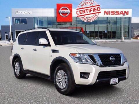 2019 Nissan Armada for sale at EMPIRE LAKEWOOD NISSAN in Lakewood CO