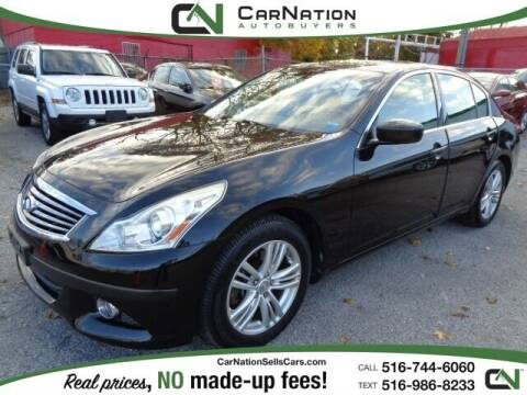 2013 Infiniti G37 Sedan for sale at CarNation AUTOBUYERS, Inc. in Rockville Centre NY