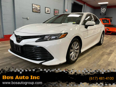 2018 Toyota Camry for sale at Bos Auto Inc in Quincy MA