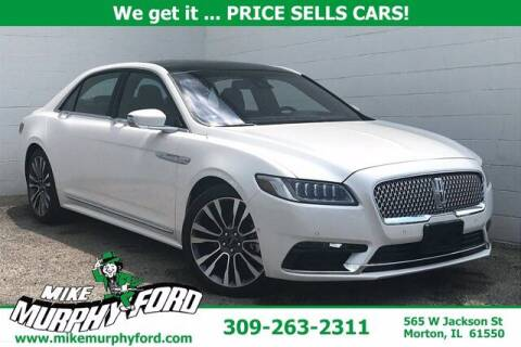 2019 Lincoln Continental for sale at Mike Murphy Ford in Morton IL