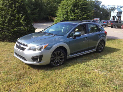 2012 Subaru Impreza for sale at Granite Auto Sales in Spofford NH
