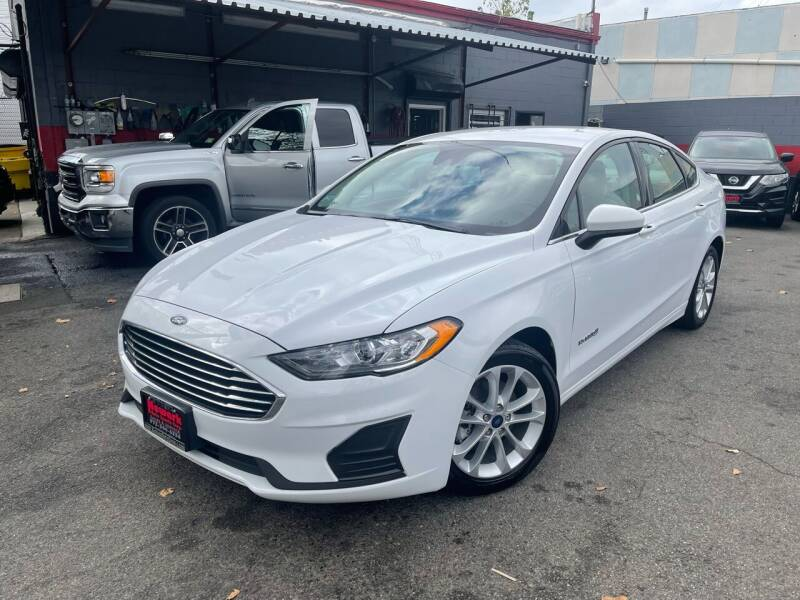 2019 Ford Fusion Hybrid for sale at Newark Auto Sports Co. in Newark NJ