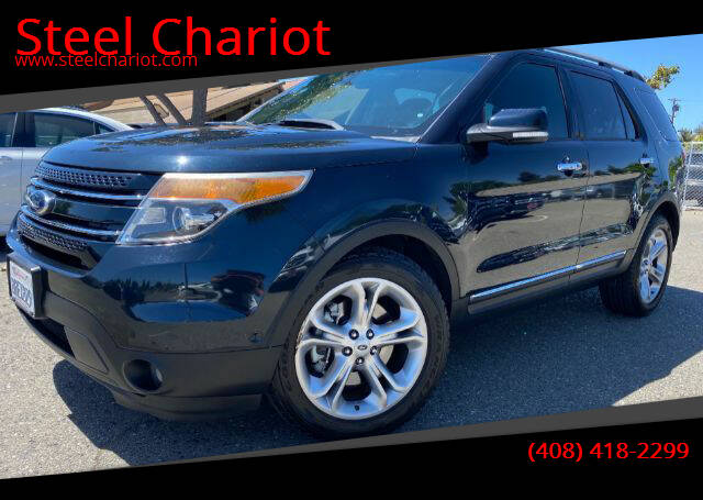 2014 Ford Explorer for sale at Steel Chariot in San Jose CA