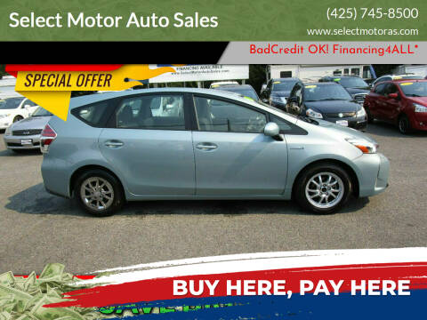 2017 Toyota Prius v for sale at Select Motor Auto Sales in Lynnwood WA