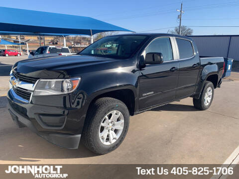 2020 Chevrolet Colorado for sale at JOHN HOLT AUTO GROUP, INC. in Chickasha OK