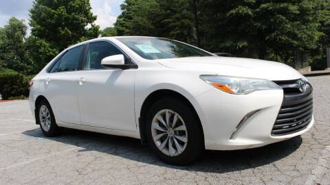 2015 Toyota Camry for sale at NORCROSS MOTORSPORTS in Norcross GA