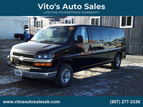 2012 Chevrolet Express Passenger for sale at Vito's Auto Sales in Anchorage AK