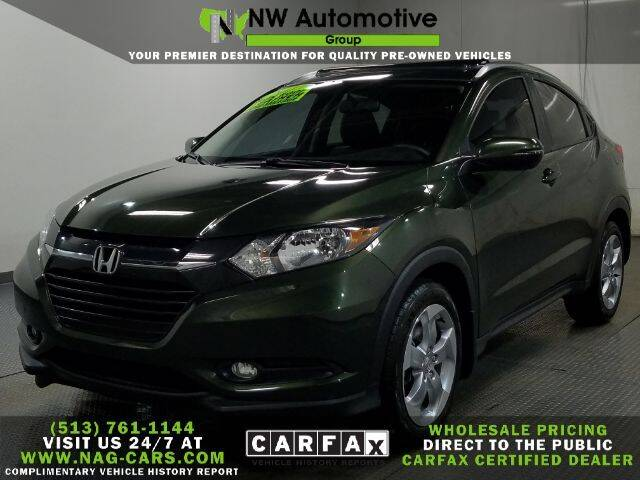 2017 Honda HR-V for sale at NW Automotive Group in Cincinnati OH
