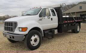 2000 Ford F-750 Super Duty for sale at Bri's Sales, Service, & Imports in Long Beach CA