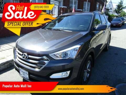 2015 Hyundai Santa Fe Sport for sale at Popular Auto Mall Inc in Newark NJ