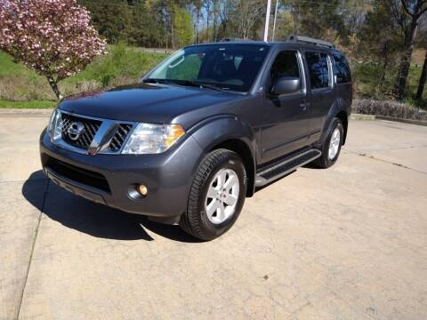 2012 Nissan Pathfinder for sale at A&Q Auto Sales in Gainesville GA