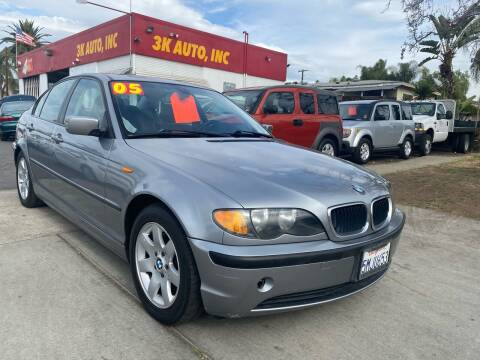 2005 BMW 3 Series for sale at 3K Auto in Escondido CA
