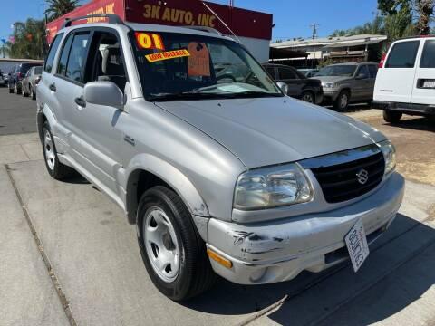 2001 Suzuki Grand Vitara for sale at 3K Auto in Escondido CA