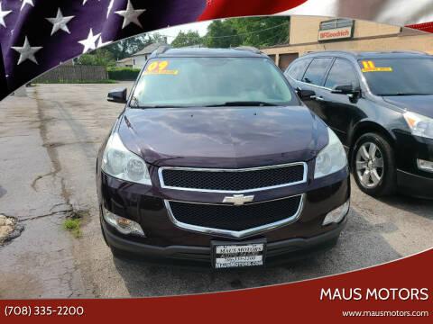 2009 Chevrolet Traverse for sale at MAUS MOTORS in Hazel Crest IL