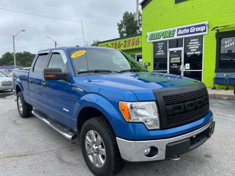2014 Ford F-150 for sale at Empire Auto Group in Indianapolis IN