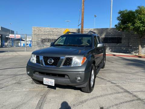 2005 Nissan Frontier for sale at Good Vibes Auto Sales in North Hollywood CA