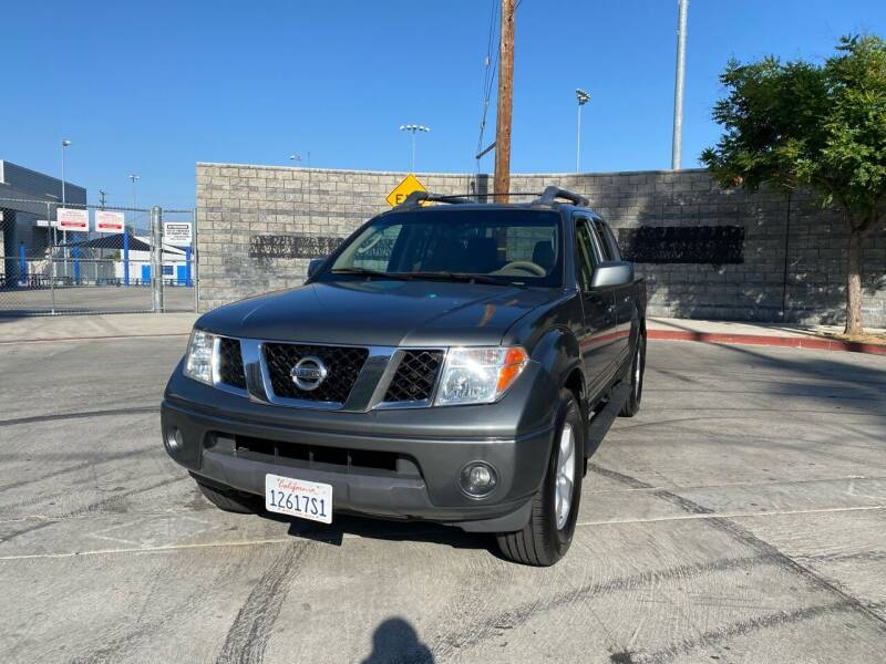 2005 Nissan Frontier for sale at FJ Auto Sales North Hollywood in North Hollywood CA