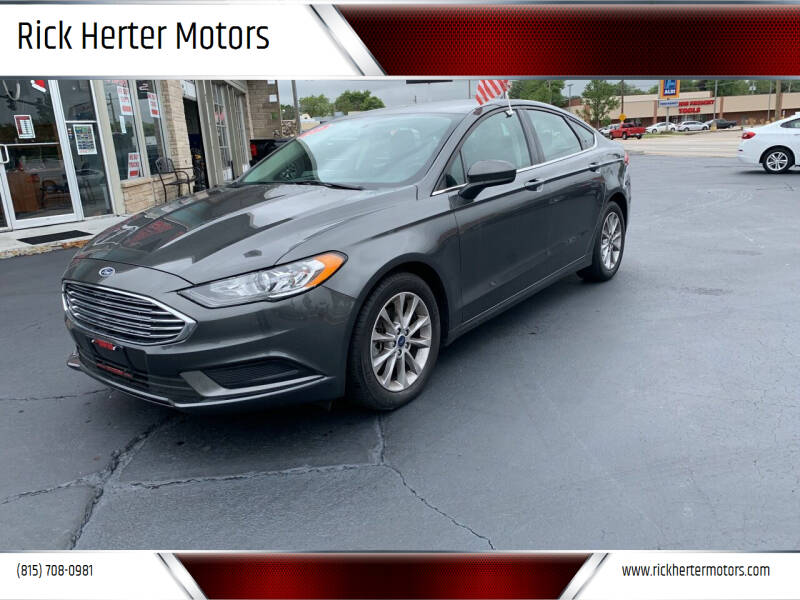 2017 Ford Fusion for sale at Rick Herter Motors in Loves Park IL