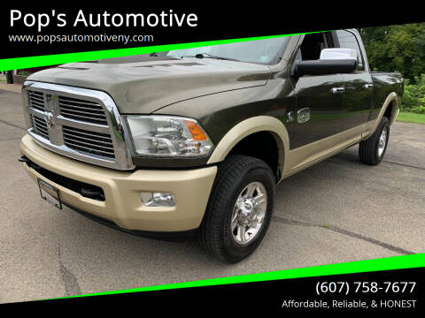 2011 RAM Ram Pickup 2500 for sale at Pop's Automotive in Homer NY