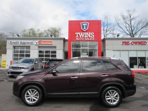 2015 Kia Sorento for sale at Twins Auto Sales Inc in Detroit MI