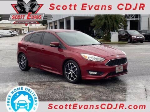 2015 Ford Focus for sale at SCOTT EVANS CHRYSLER DODGE in Carrollton GA