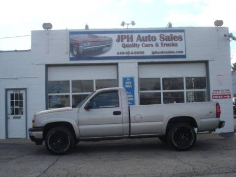 2007 Chevrolet Silverado 1500 Classic for sale at JPH Auto Sales in Eastlake OH
