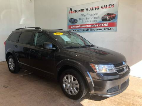 2017 Dodge Journey for sale at Antonio's Auto Sales - Antonio`s  3001 in Pasadena TX
