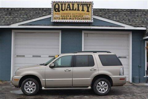 2007 Mercury Mountaineer for sale at Quality Pre-Owned Automotive in Cuba MO