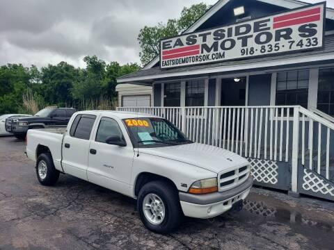 2000 Dodge Dakota for sale at EASTSIDE MOTORS in Tulsa OK