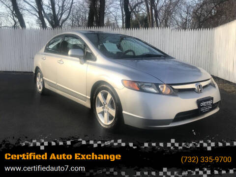 2008 Honda Civic for sale at Certified Auto Exchange in Keyport NJ