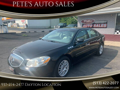 2011 Buick Lucerne for sale at PETE'S AUTO SALES - Dayton in Dayton OH