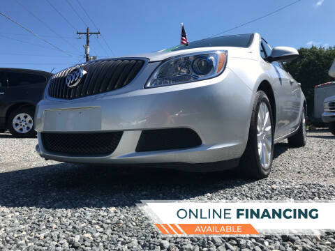2016 Buick Verano for sale at Prime One Inc in Walkertown NC