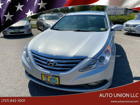 2014 Hyundai Sonata for sale at Auto Union LLC in Virginia Beach VA