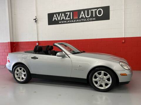 1998 Mercedes-Benz SLK for sale at AVAZI AUTO GROUP LLC in Gaithersburg MD