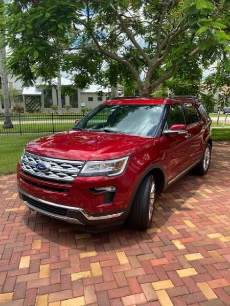 2018 Ford Explorer for sale at FALCON MOTOR GROUP in Orlando FL